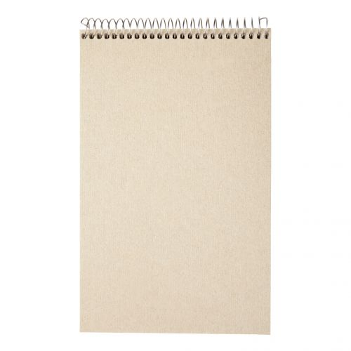 5 Star Eco Shorthand Pad Wirebound 70gsm Ruled 160pp 127x200mm Green [Pack 10]