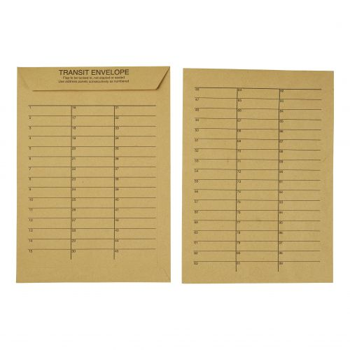 5 Star Office Internal Mail Envelopes C4 Pocket Resealable 90gsm Manilla C4 [Pack 250]