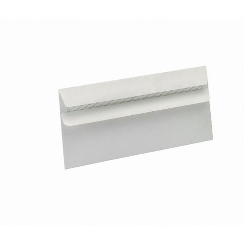 5 Star Eco Envelopes Wallet Recycled Self Seal Window 90gsm DL 220x110mm White [Pack 500]