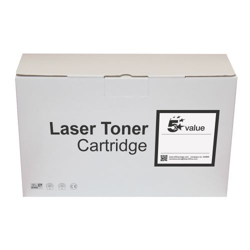 5 Star Value Remanufactured Fax Toner Cartridge Page Life 4500pp Black [Canon FX7 Alternative]