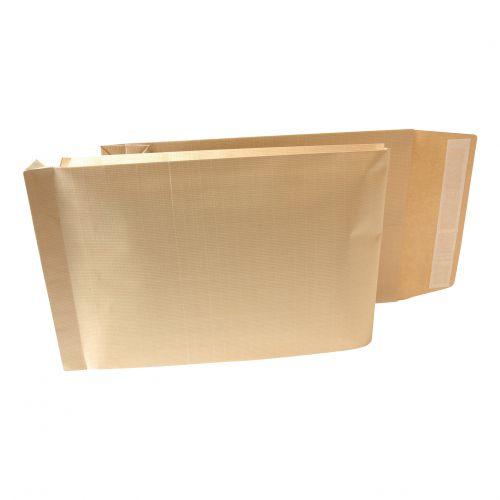 New Guardian Armour Envelopes 470x300mm Gusset 70mm Peel&Seal 130gsm Kraft Manilla Ref B28513 [Pack 100]