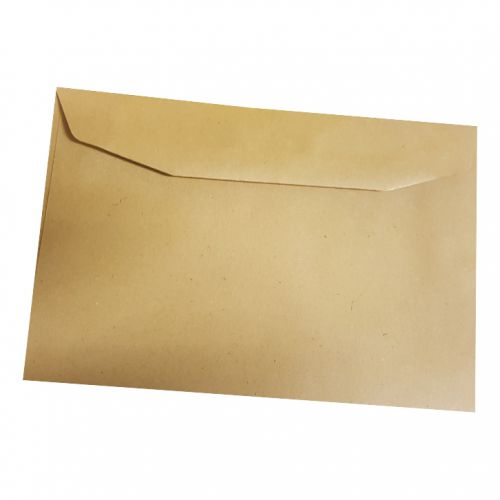 5 Star Office Envelopes FSC Recycled Wallet Gummed Lightweight 75gsm C6 114x162mm Manilla [Pack 2000]