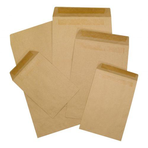 5 Star Office Envelopes C5 Pocket Self Seal 90gsm Manilla [Pack 500]