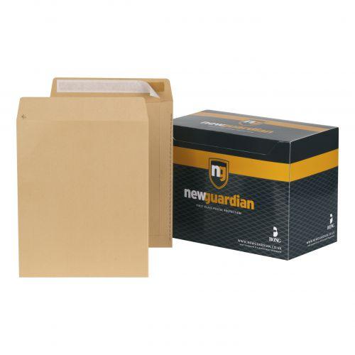 New Guardian Envelopes FSC Pocket Peel & Seal Heavyweight 130gsm 305x250mm Manilla Ref L27103 [Pack 250]