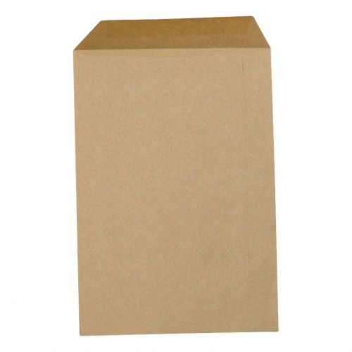 5 Star Office Envelopes FSC Pocket Gummed Lightweight 80gsm C4 324x229mm Manilla [Pack 500]