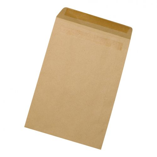 5 Star Office Envelopes FSC Pocket Gummed 80gsm C5 229x162mm Lightweight Manilla [Pack 1000]