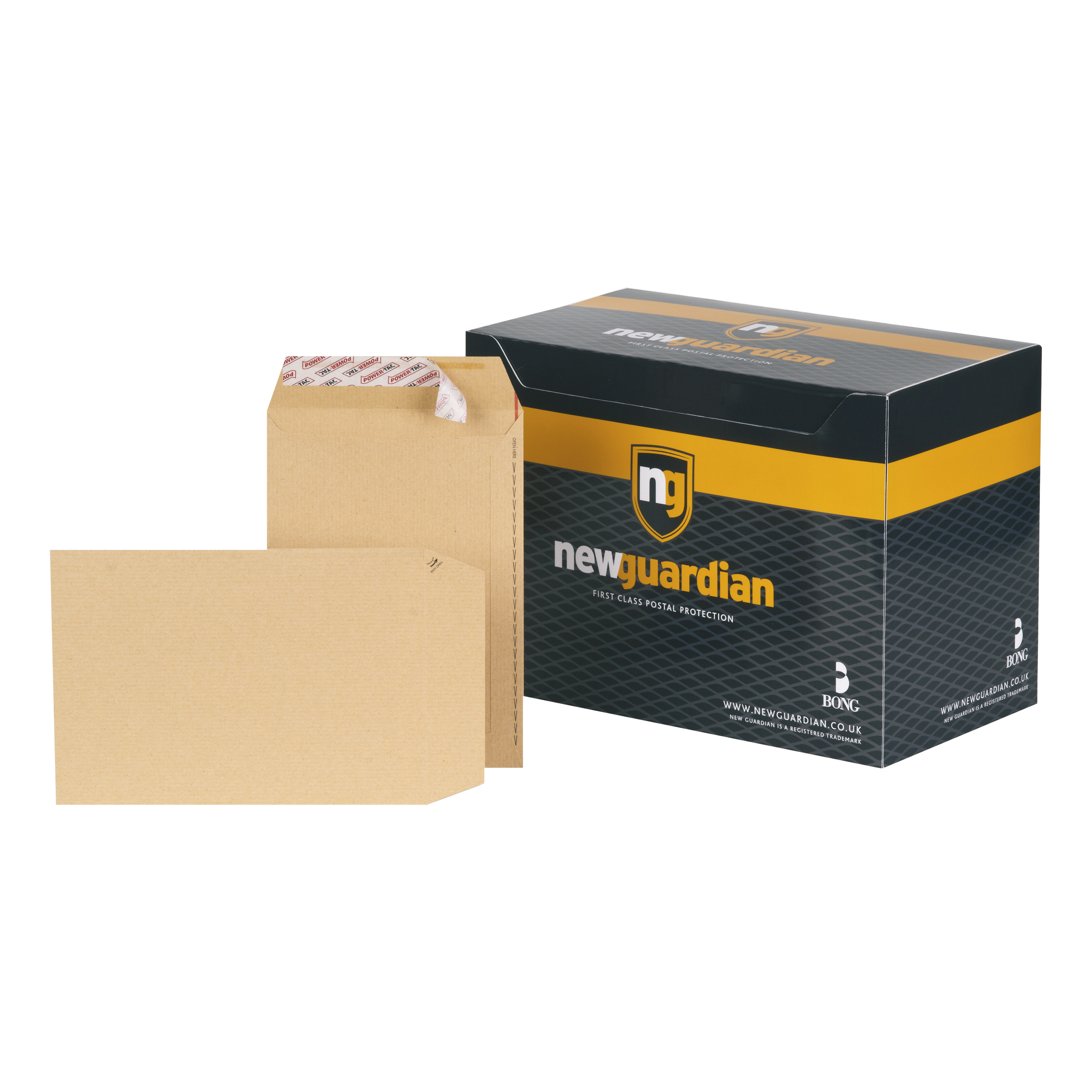 New Guardian Envelopes C5 Heavyweight Pocket Peel and Seal 130gsm Manilla Ref L26039[Pack 250]