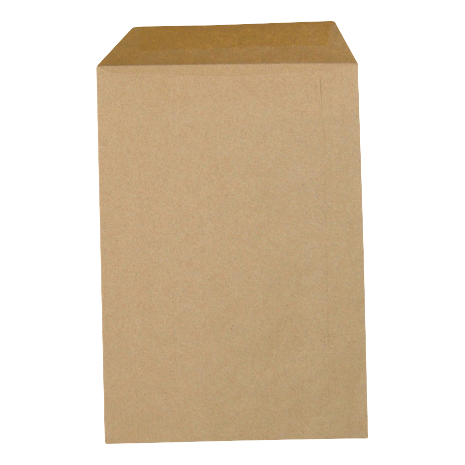 5 Star Office Envelopes Lightweight Pocket Gummed 80gsm Manilla C4 [Pack 500]