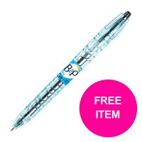 Pilot B2P Rollerball 0.7mm Black Ref 054101001 [Pack 10] [FREE Refills] Jan-Mar 2020