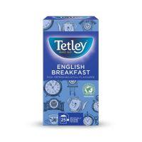 Tetley Individually Enveloped Tea Bags English Breakfast Drawstring in Envelope Ref 1278 [Pack 25]