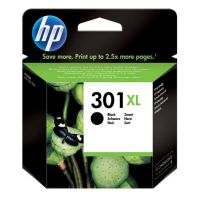 Hewlett Packard [HP] No.301XL Inkjet Cartridge High Yield Page Life 480pp 8ml Black Ref CH563EE
