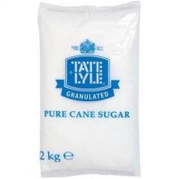 Tate and Lyle Granulated Pure Cane Sugar Bag 2kg Ref A03912