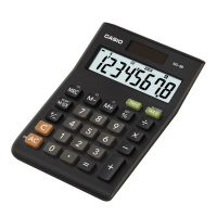 Casio Desktop Calculator 8 Digit 3 Key Memory Battery/Solar Power 103x28.8x147mm Black Ref MS-8TV/MS-8B