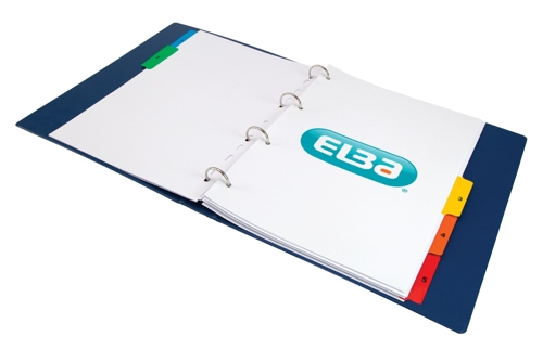Elba Mylar Index1-5 A4plus Mlti100204630