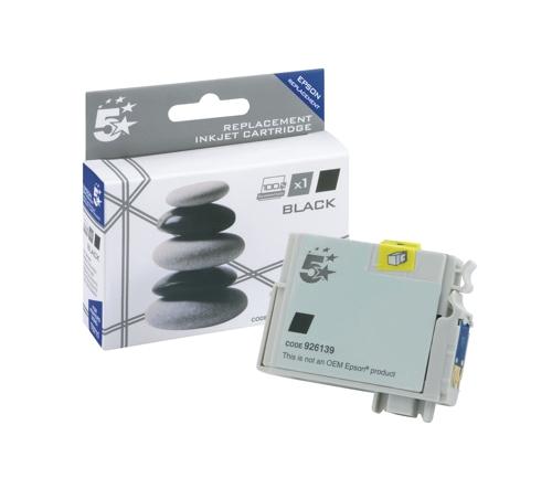 5 Star Compatible Inkjet Cartridge Black for Epson T071140