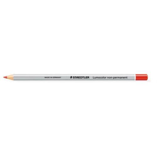 Pencils (Wood Case) Staedtler Lumocolor Non-Permanent Omnichrom Pencil Red (Pack 12) 108-2