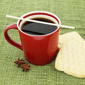 COFFEE STIRRER R810 WOOD 5.5