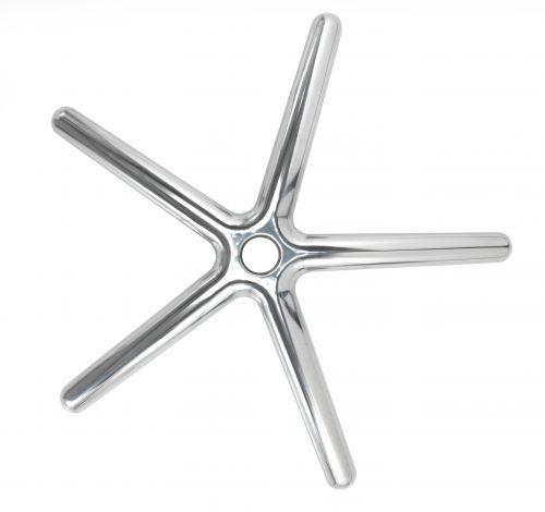 Polished Aluminium Base - Aluminium
