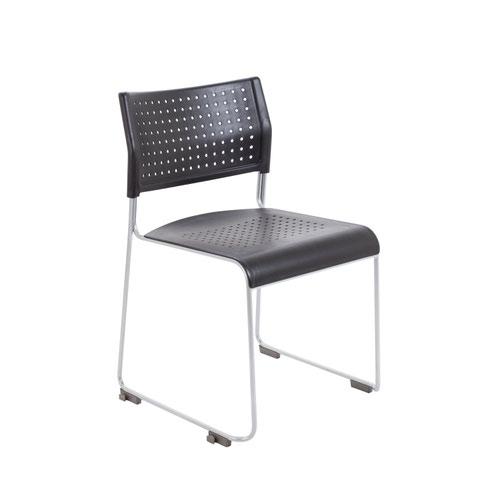 Twilight Stacker Chair - Black