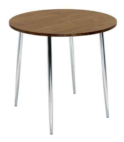 Ellipse 800 4 Leg Table Walnut