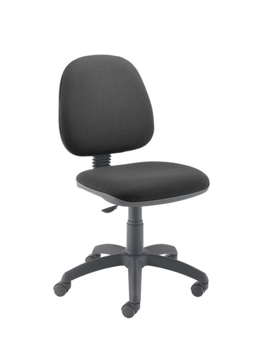 Zoom Mid Back Operator Chair - Charcoal