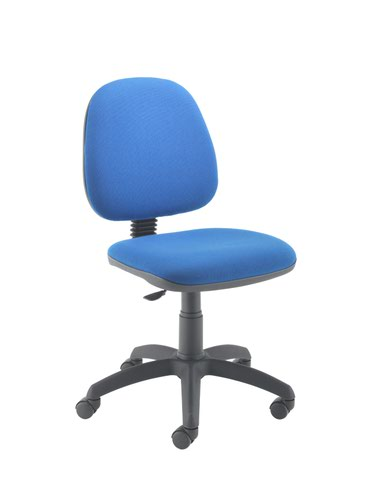 Zoom Mid Back Operator Chair - Royal Blue