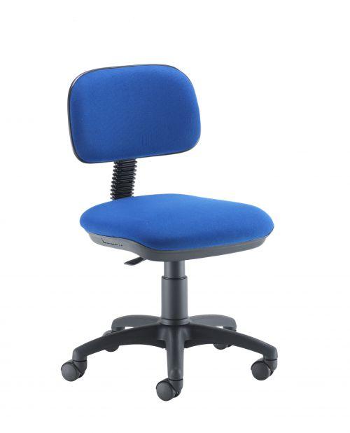 Zoom Typist Chairs Blue