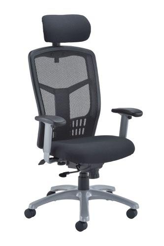 Fonz Mesh Chair - Black