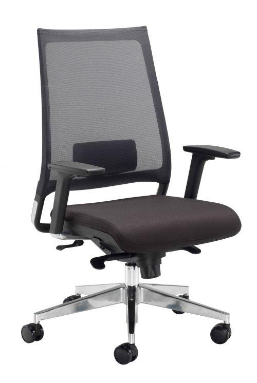 Willow Black Mesh Black Seat