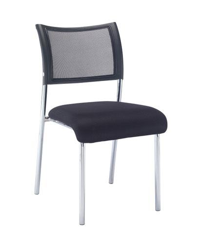 Jupiter Side Chair - Chrome Frame