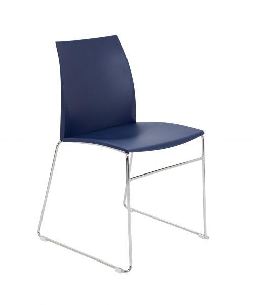 Adapt Skid Chair - Blue