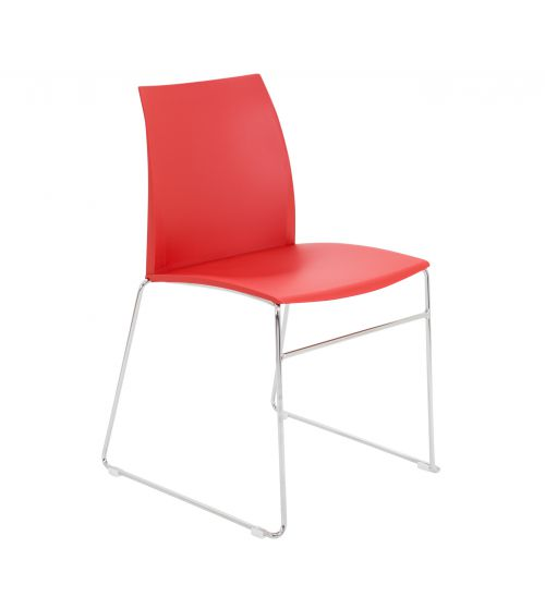 Image for Adapt Skid Chair - Red