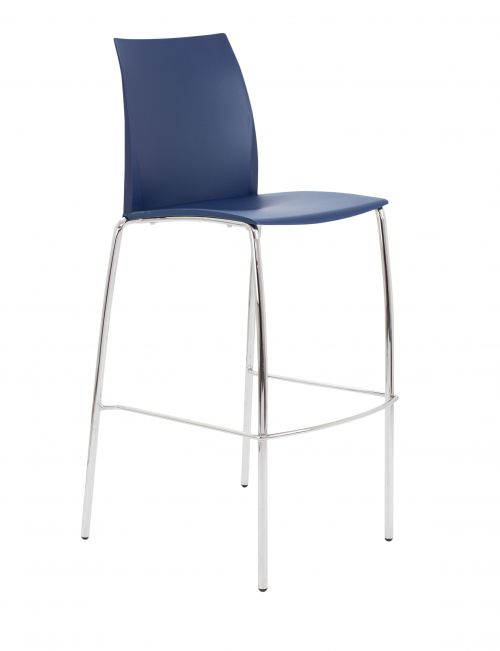 Adapt 4 Leg High Chair - Blue - CH2103BU