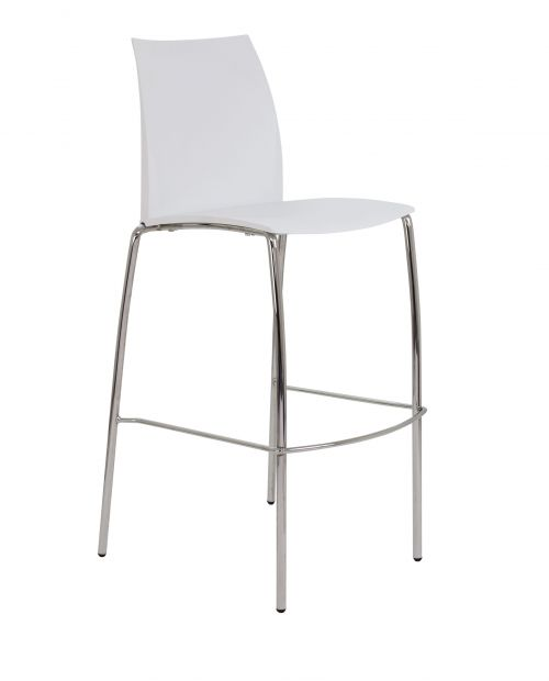 Image for Adapt 4 Leg High Chair - White