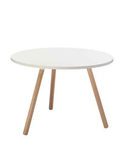 Large Tripod Table - White
