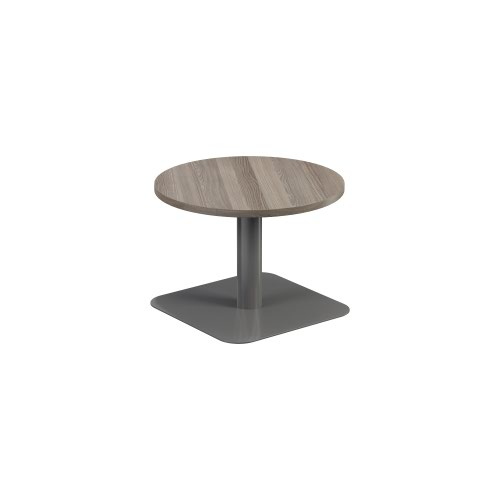 Contract Table Low 600mm Grey Oak