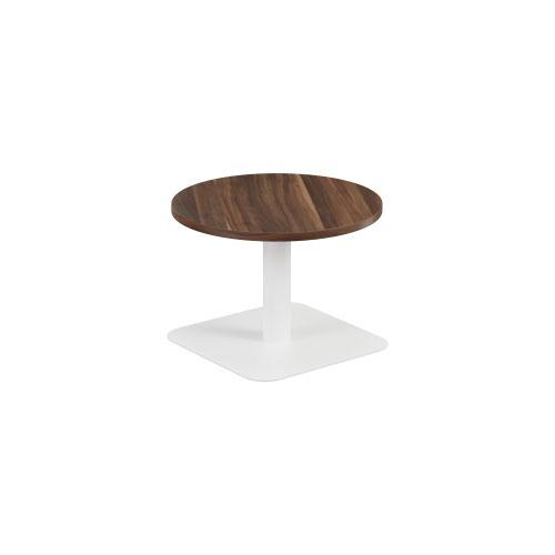 Contract Table Low 600mm Dark Walnut
