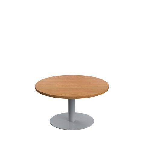 Contract Table Low 800mm Nova Oak