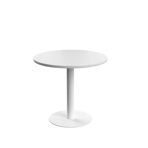 Contract Table Mid 800mm White