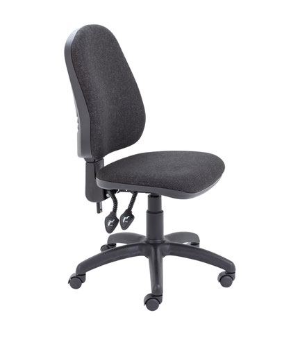 Calypso II High Back Chair - Charcoal
