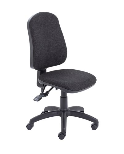 Calypso II High Back Deluxe Chair - Charcoal