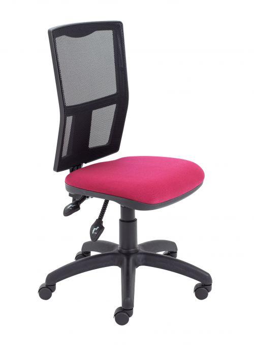 Calypso II Mesh Chair - Claret