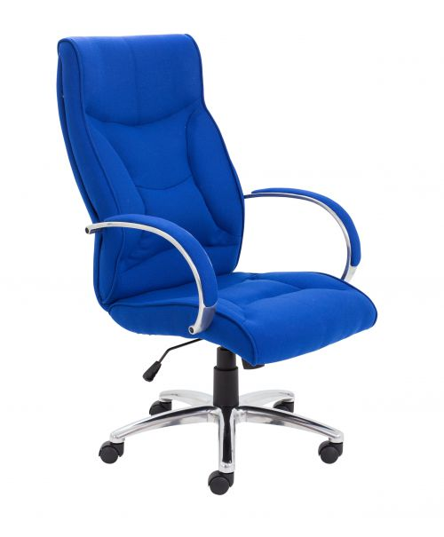 Whist Fabric Chair Royal Blue