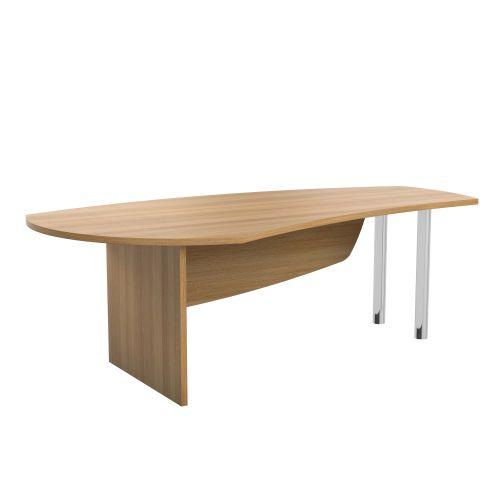 E Space Executive Desk Cappuccino - Simple