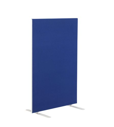 Image for 1200W X 1600H Upholstered Floor Standing Screen Straight - Royal Blue