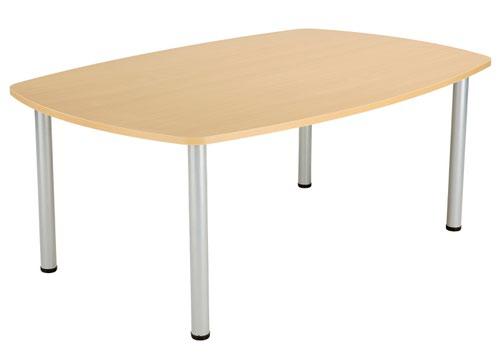 One Fraction Plus 1800 Boardroom Table Nova Oak