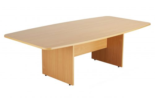 One Fraction Plus Barrel Table Beech 2