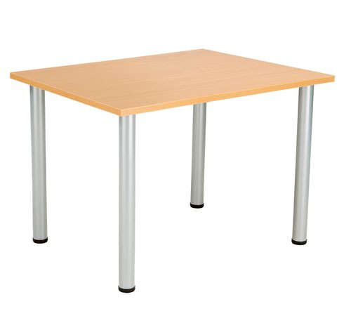 One Fraction Plus 1280 Rectangular Meeting Table Beech