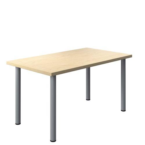 One Fraction Plus 1480 Rectangular Meeting Table Maple