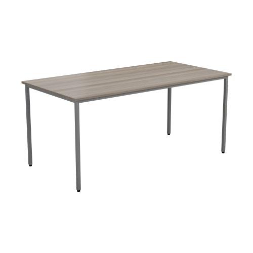 1600 X 800 Rectangular Multipurpose 18mm Table Desktop Grey Nova Oak